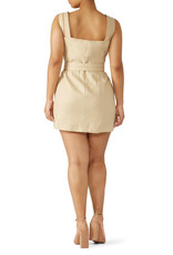 Nicholas Nicholas Button Double Strap Dress