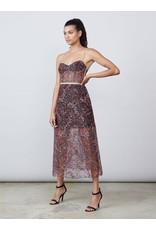 Allen Schwartz Allen Schwartz Eden lace bustier dress