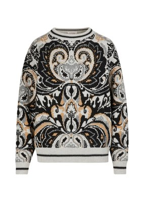 See By Chloe Oversized Printed Sweater