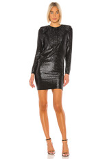 Michelle Mason Michelle Mason l/s mini dress with crystals