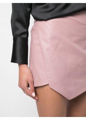Michelle Mason Mini skirt with slit