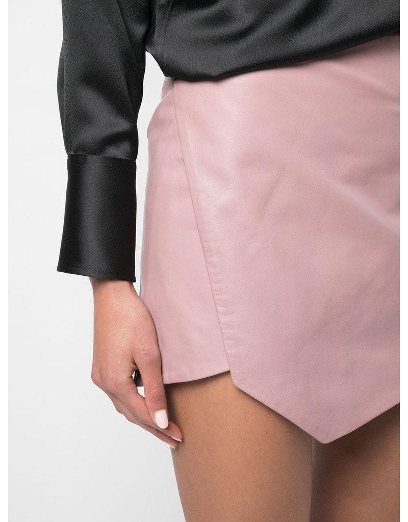 Michelle Mason Michelle Mason Mini skirt with slit