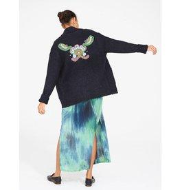 Raquel Allegra Tapestry shawl collar cardigan