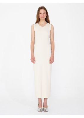 Raquel Allegra Ribbed layering maxi dress