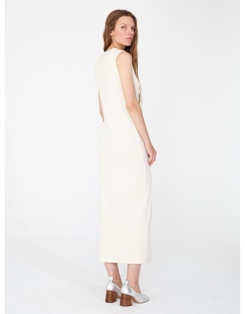 Raquel Allegra Raquel Allegra Ribbed layering maxi dress