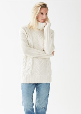 Not Monday James Cable Knit Pullover