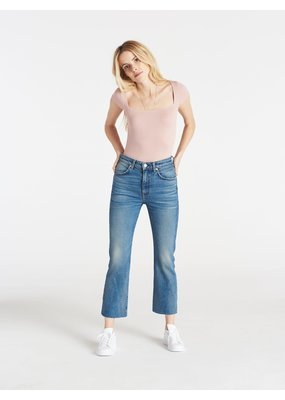 CQY Wes crop bootcut