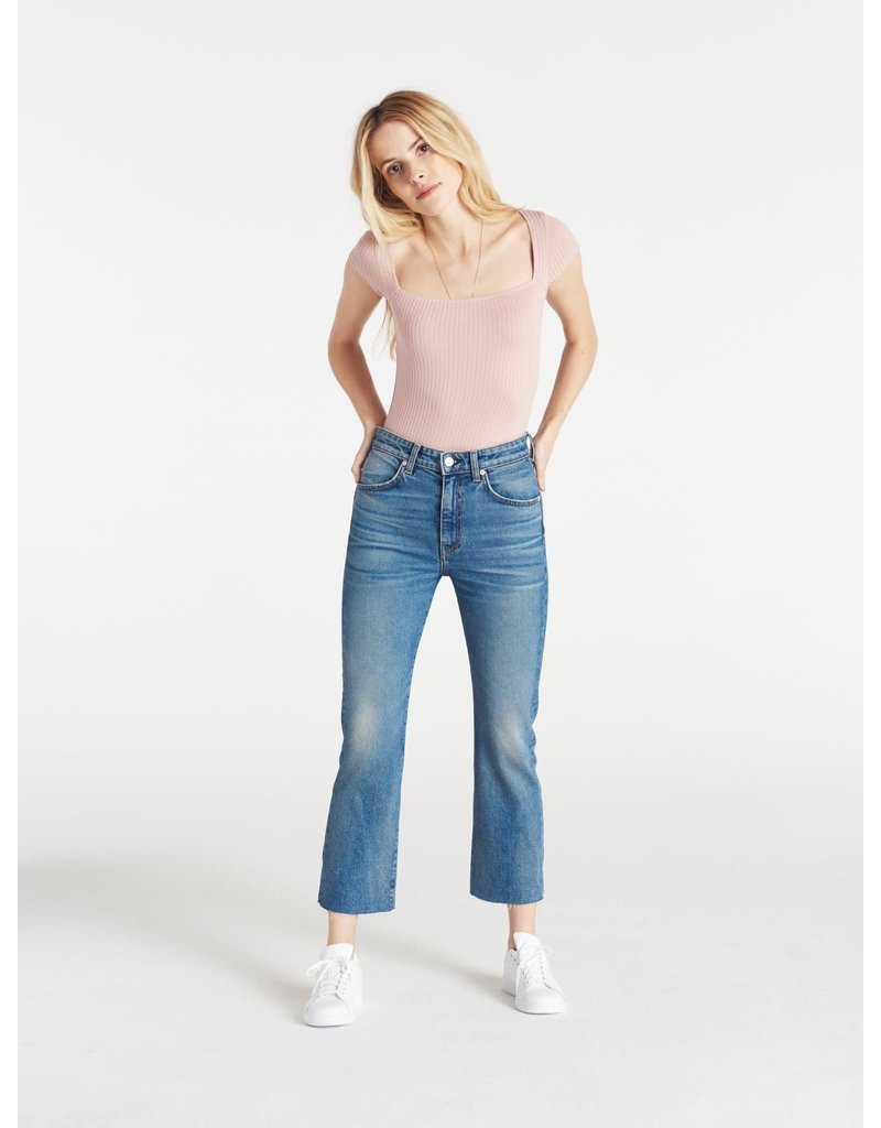 CQY CQY Wes crop bootcut