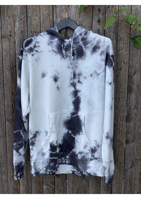 Blue One Tie-dye hoodie