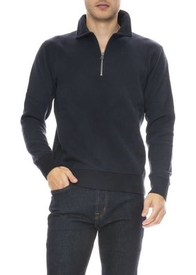 Hartford Knitted Mock zip pullover
