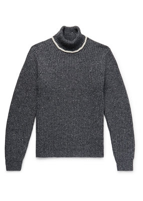 Alex Mill Donegal blend roll neck