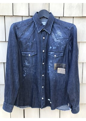 Tintoria Mattei Denim button down