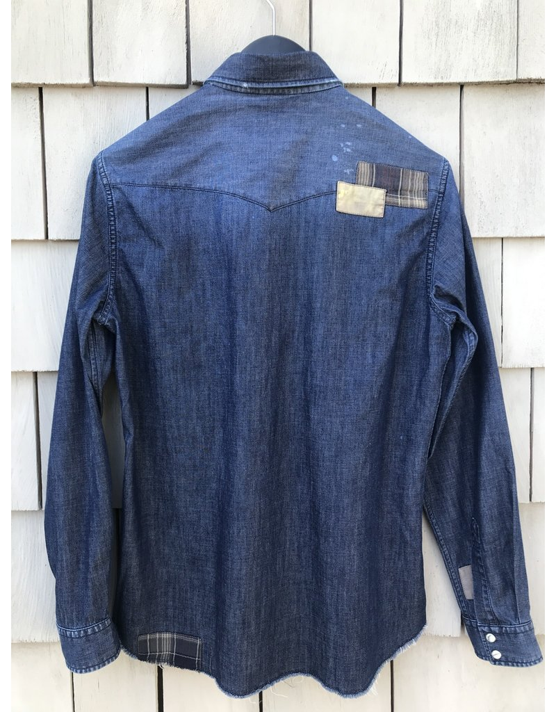 Tintoria Mattei Tintoria Mattei Denim button down