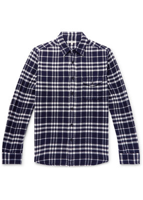Alex Mill Plaid Patch flannel shirt