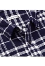 Alex Mill Alex Mill Plaid patch flannel shirt