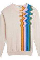 Replica Replica Wavy stripe sweater