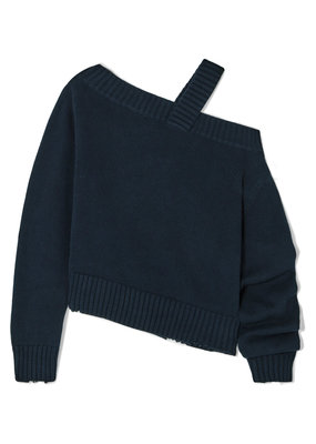 RTA Beckett off-the-shoulder sweater
