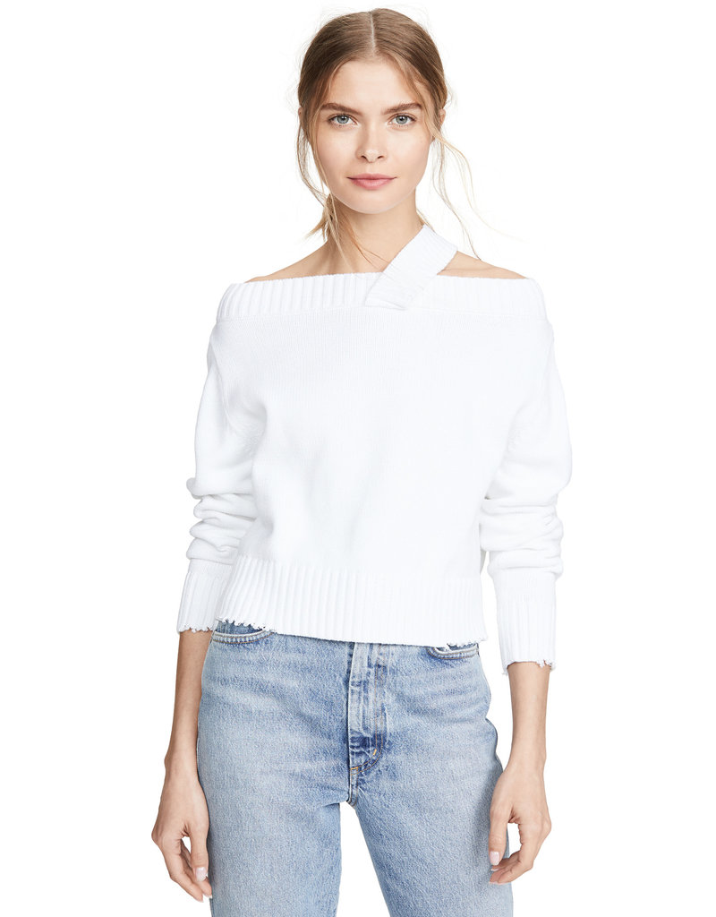 RTA RTA Beckett off-the-shoulder sweater