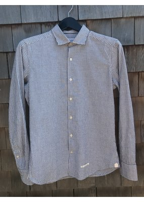 Tintoria Mattei Checkered button down