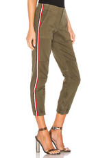 Pam & Gela Pam & Gela Cargo side stripe pant