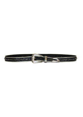 Streets Ahead Silver hardware studded belt
