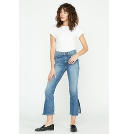 Hudson Holly high-rise crop straight