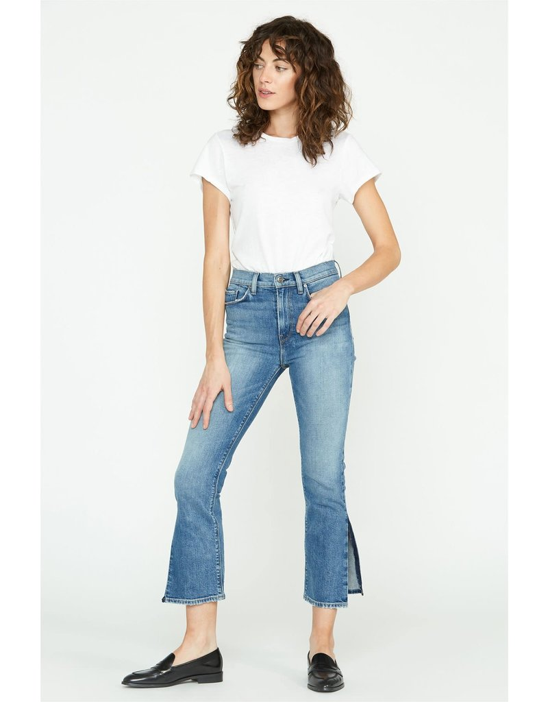 Hudson Hudson holly high-rise crop straight