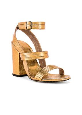 Alumnae Stitched Mignon block heel