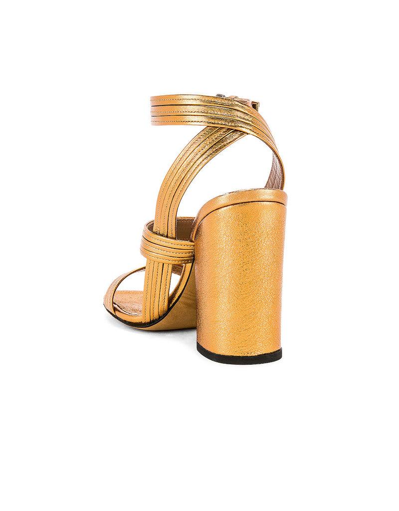 Alumnae Alumnae Stitched Mignon block heel