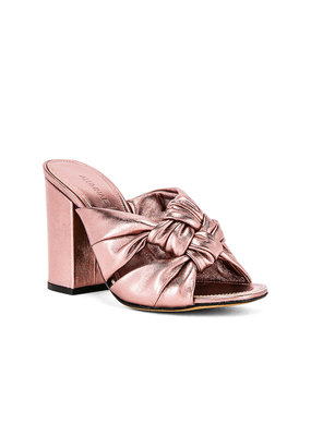 Alumnae Windsor Knot block high heel
