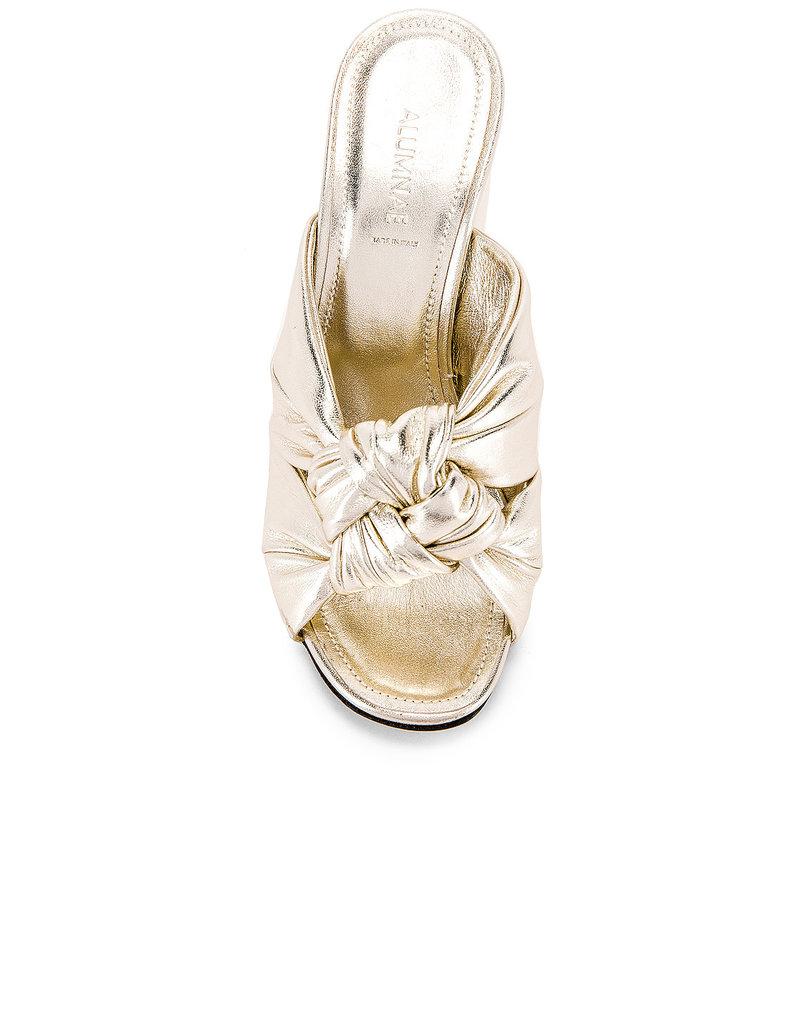 Alumnae Alumnae Windsor Knot block high heel
