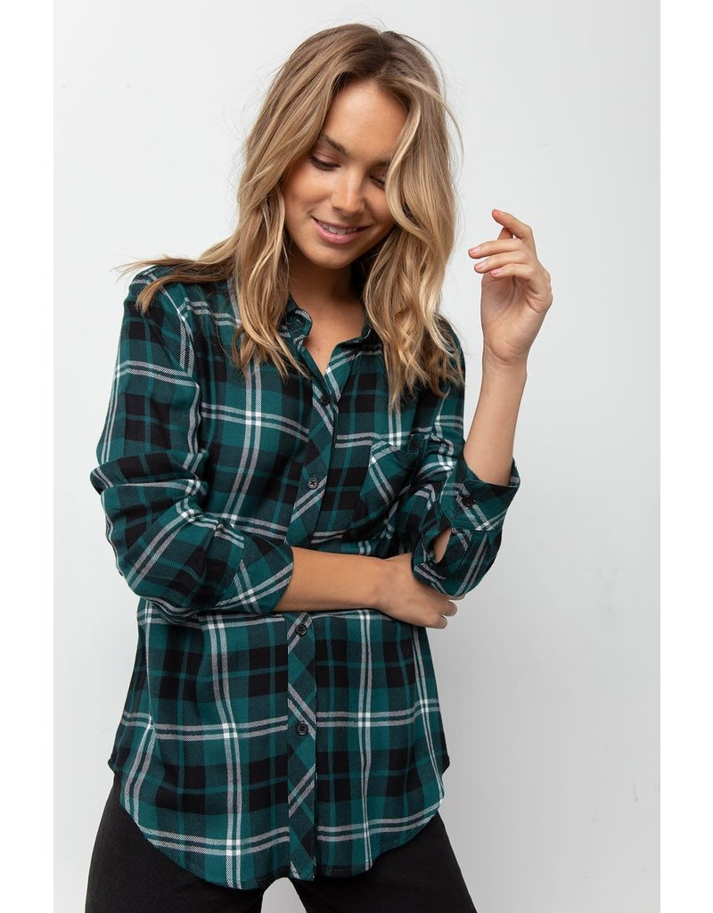 Rails Rails Hunter Flannel