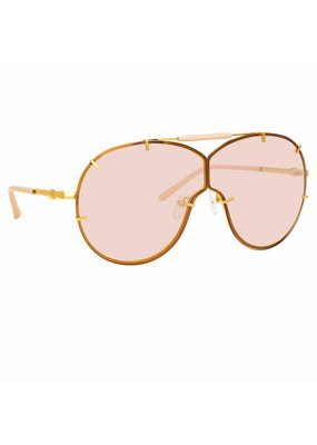 Linda Farrow No. 21 Aviator sunglasses