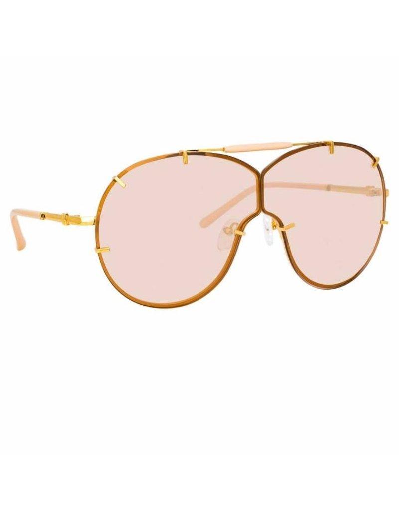 Linda Farrow Linda Farrow No. 21 Aviator sunglasses