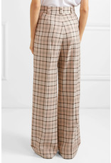 See By Chloe See by Chloe Plaid Wide-Leg pants