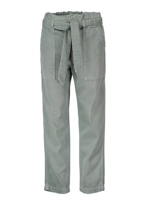 AMO Paperbag pant relaxed straight leg