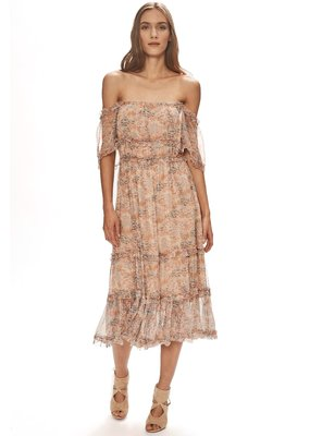 Love Sam Waterlily Ruffle Off Shoulder dress