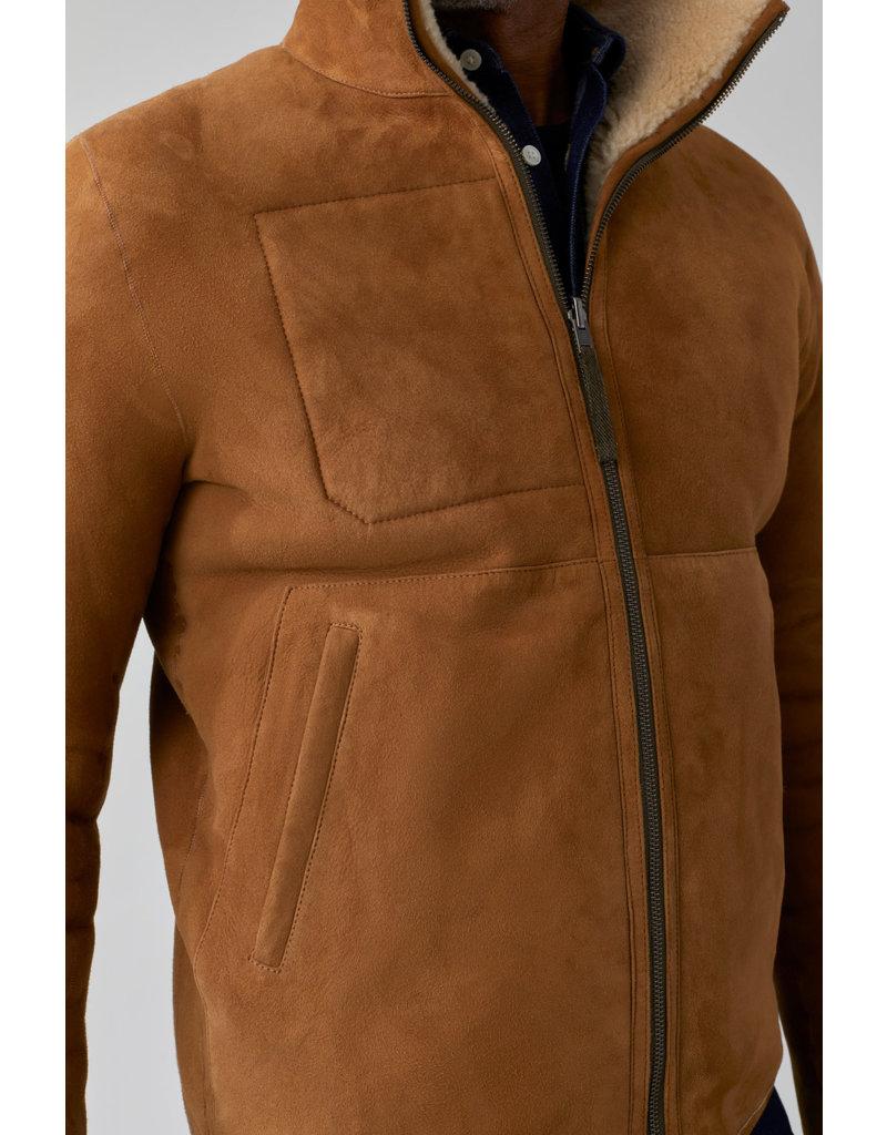 Closed Closed Reversible Shearling jacket
