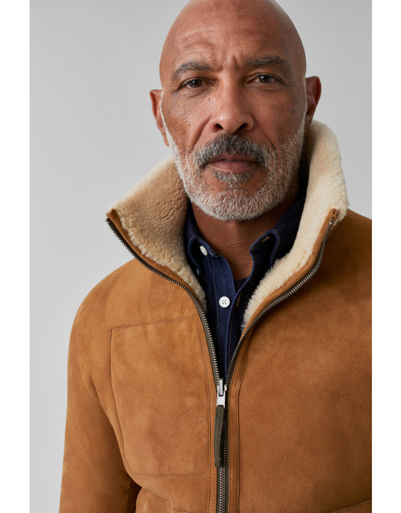 Closed Closed Reversible Shearling jacket