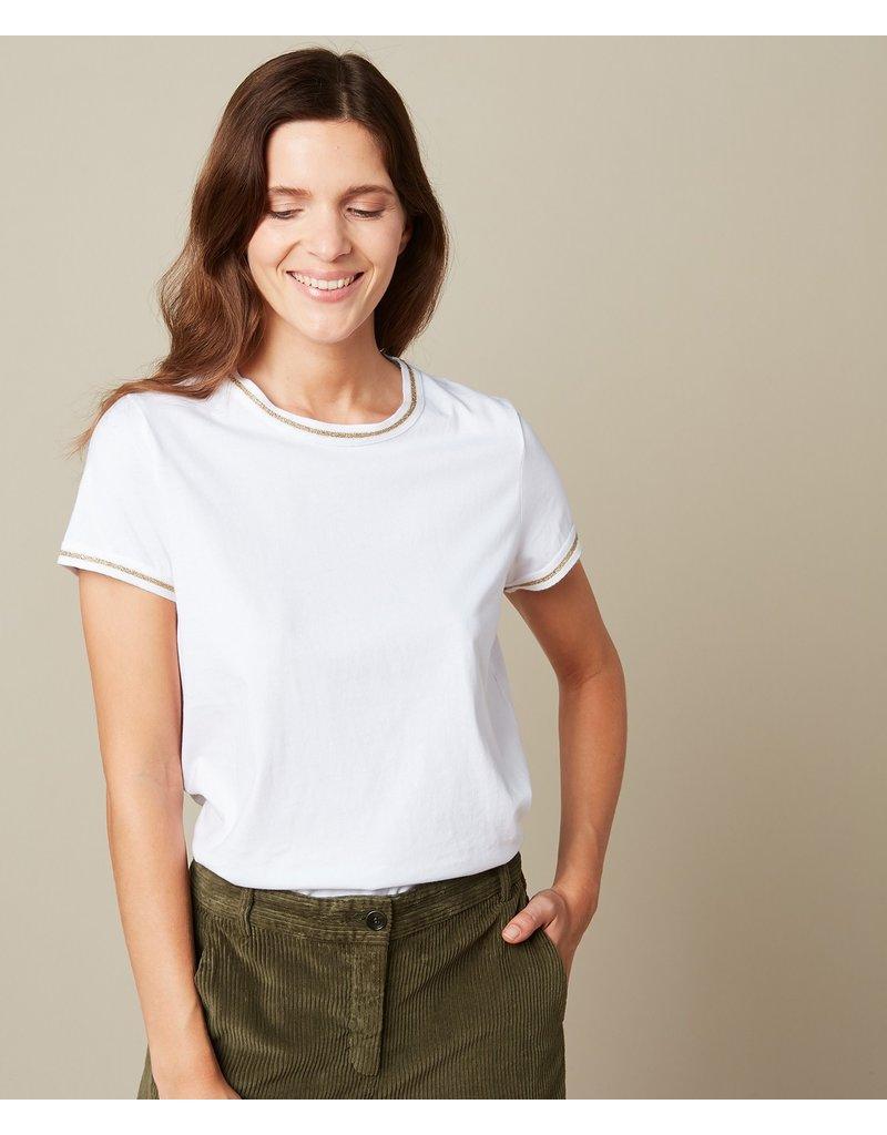 Hartford Hartford Gold Lurex t-shirt