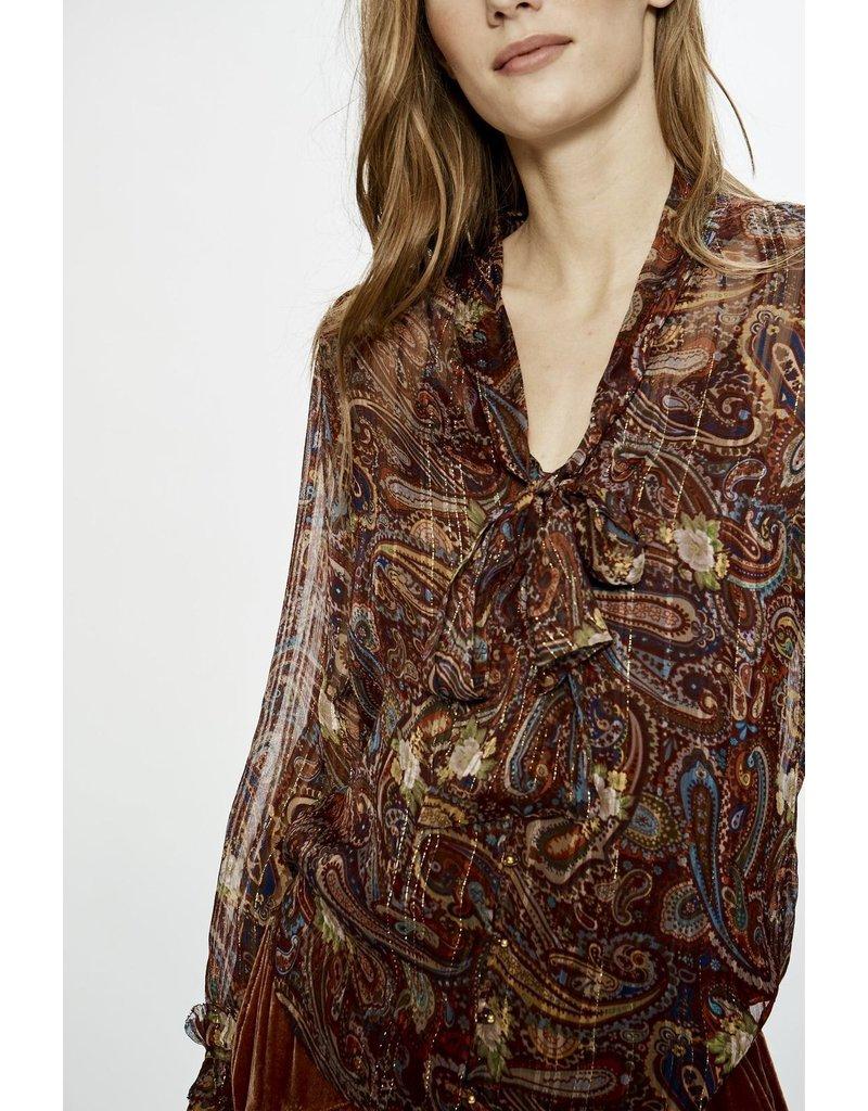 Love Sam Love Sam Moroccan Paisley blouse