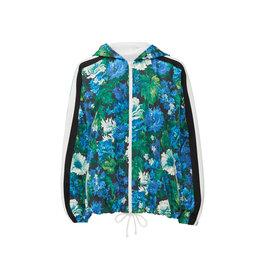Pam & Gela Zip-Up Hooded Windbreaker jacket