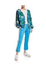 Pam & Gela Pam & Gela Snake Side Stripe Crop Flare