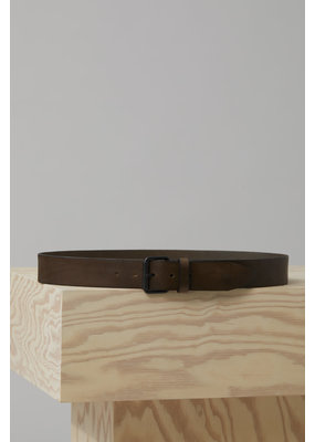 Closed Leather Belt