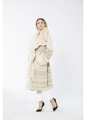 Di Bello Bakery coat in Persiano lamb