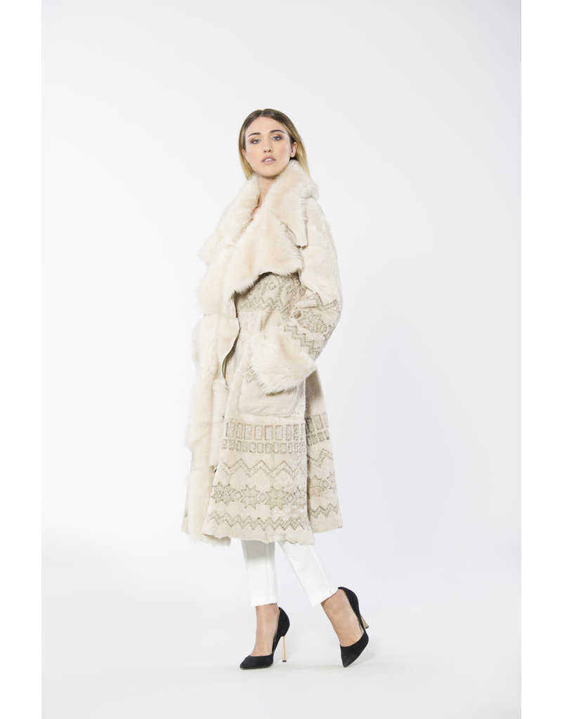 Di Bello Di Bello coat in Persiano lamb