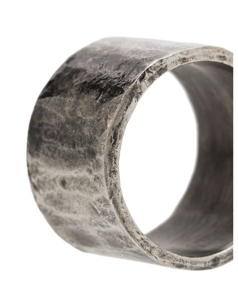 M.cohen M.Cohen Carved Tube ring