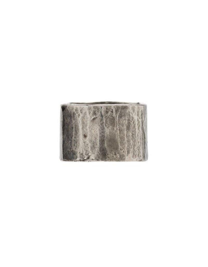 M.cohen M.Cohen Carved Tube ring