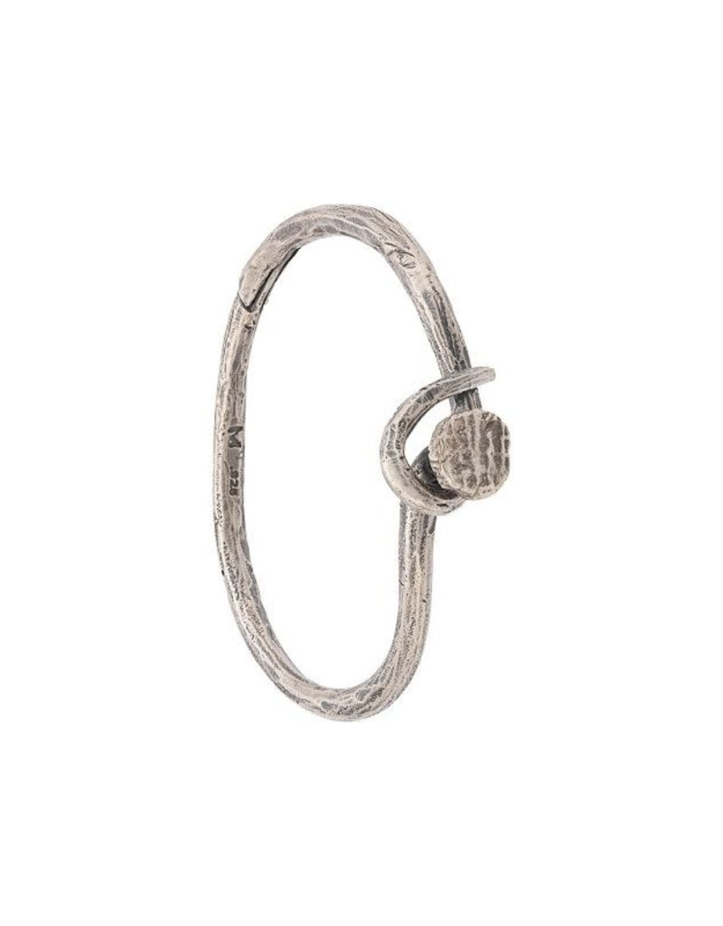M.cohen M.Cohen Nail Bangle With Screw On Head