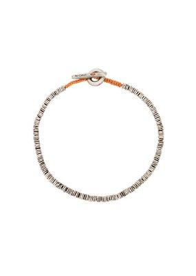 M.cohen Beaded Disc bracelet